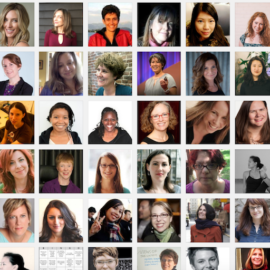 Women Talk Design profiles collage
