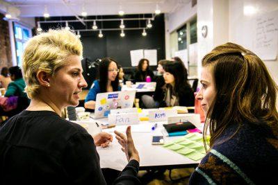 Design your talk event participants