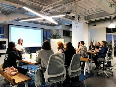 Women talk design event