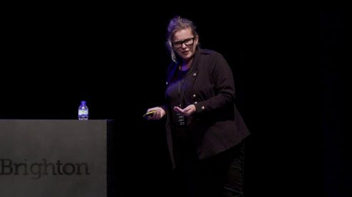 Models from Complexity Science – Karen Cham at UX Brighton 2017