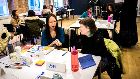 Present Yourself Workshop participants
