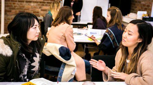 Public Speaking for designers workshop participants