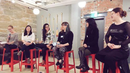 Speaking panel participants