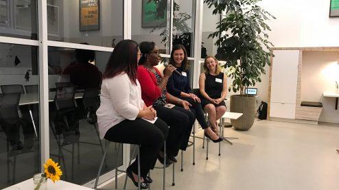Women Talk Conferences participants