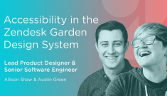 Accessibility in the Zendesk Garden Design System