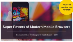 Super Powers of Modern Mobile Browsers