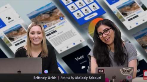 Brittney Urich on Adobe Live