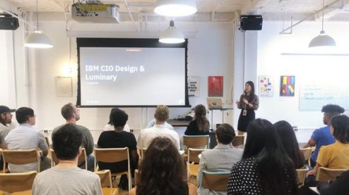 IBM CIO Design & Luminary event