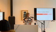 Anna presenting at DVLP DNVR