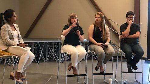 Anna speaking on panel