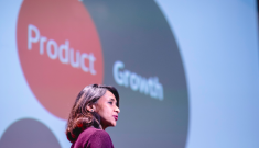 Chetana Deorah presenting at Design Leadership Summit