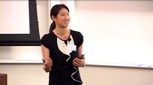 Carina presenting