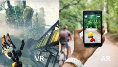 Image examples of VR and AR