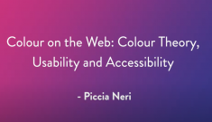 colour on the web