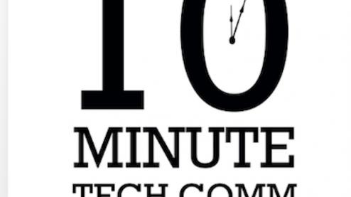 10 Minute Tech Comm Podcast Logo